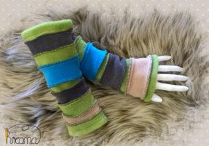 Armstulpen-Damen-Fleece-grau-beige-grün-blau-Shop