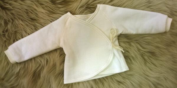Babyshirt-Wickelshirt-Sweat-natur