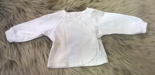 Babyshirt-Wickelshirt-Trico-weiß