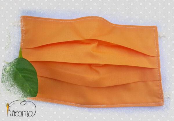Behelfsmundschutz-Mund-Nasen-Schutz-uni-orange-ab-12-Jahre-normal-Shop