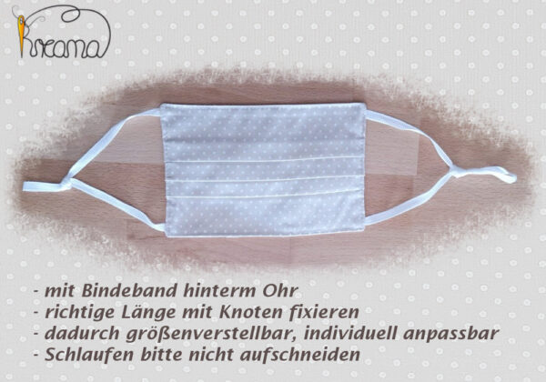 Behelfsmundschutz-Mund-Nasenschutz-Bindebänder-Erklärung
