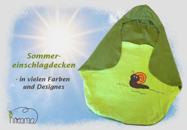 Hintergrund-Sommereinschlagdecke