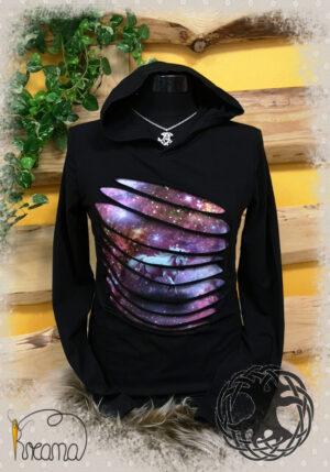 Shirt-Langarm-Einhorn-mit-Zipfelkapuze-von-vorn-Shop