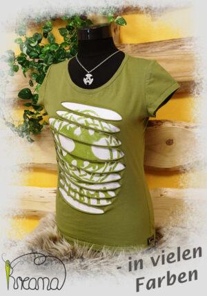 Shirt-Lebensbaum-grün