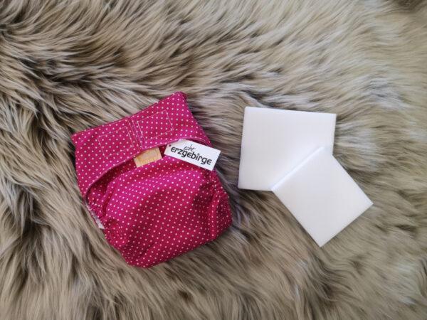 Windelhose-Punkte-pink-Größe1