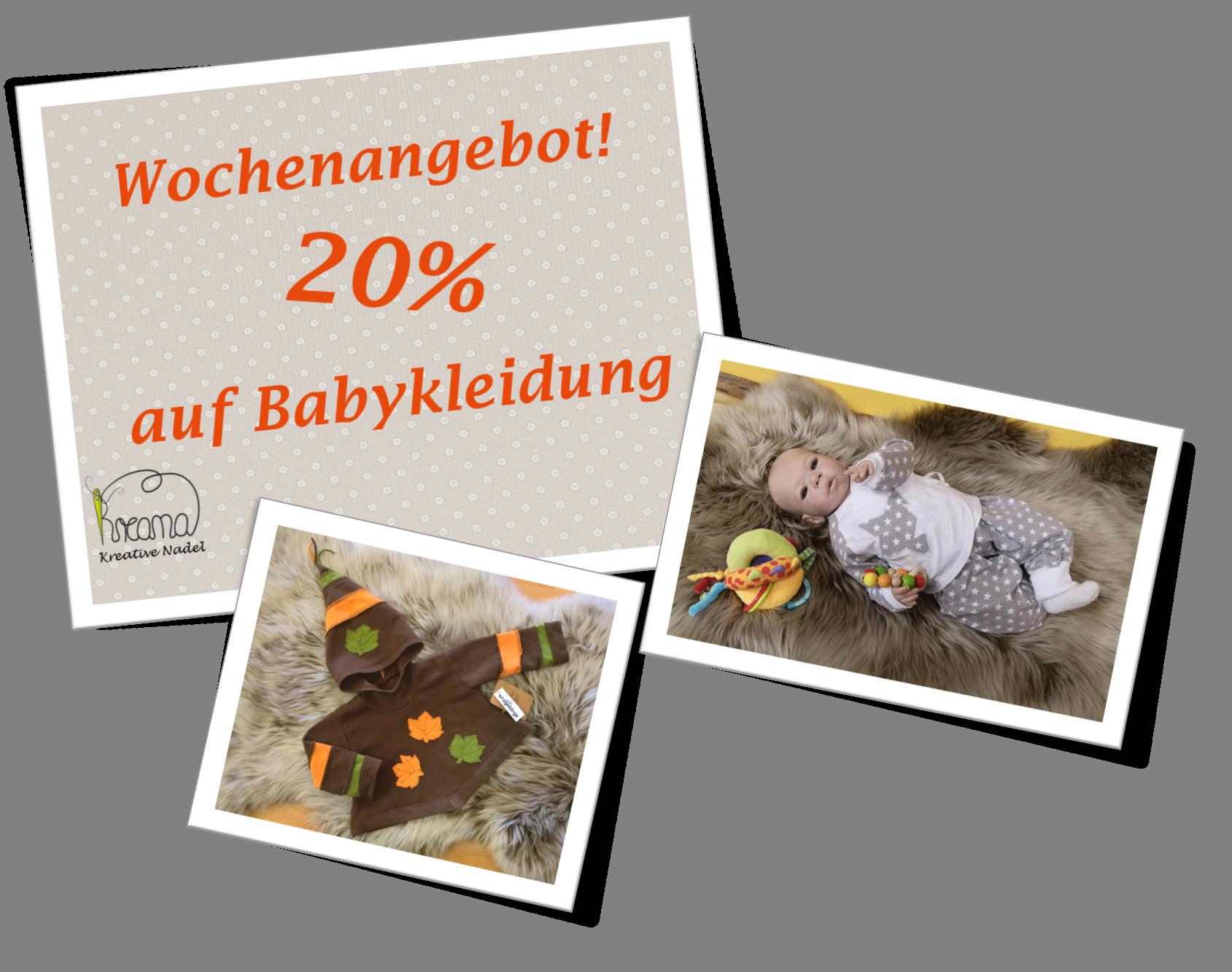 Wochenangebot Babykleidung