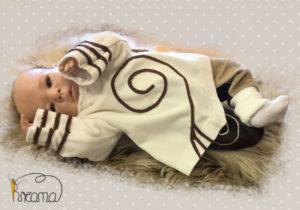 Zipfelpulli-Nicky-natur-Spirale-braun-mit-Puppe-Shop